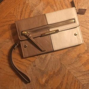 Steve Madden Brown and Tan Wallet